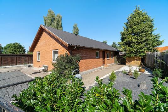 Villa på Nørre Boulevard i Køge - Set fra haven