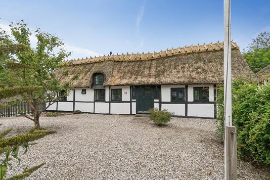 Villa på Ejbyvej i Lille Skensved - Gårdsplads