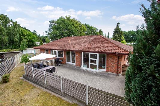 Villa på Byledet i Køge - Set fra haven
