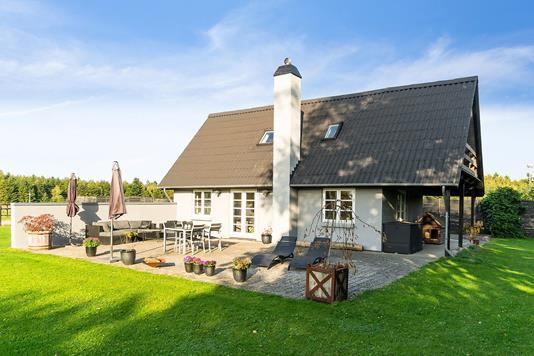Villa på Billesborgvej i Køge - Set fra haven
