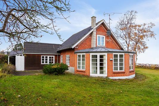 Villa på Kystvejen i Strøby - Set fra haven