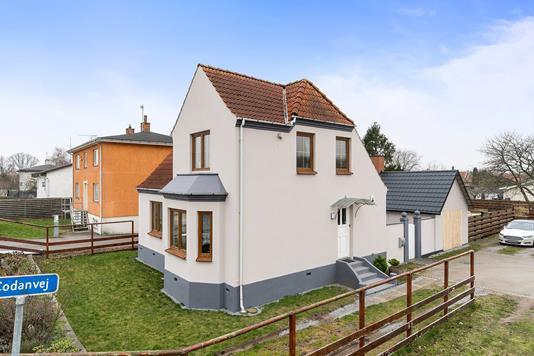 Villa på Codanvej i Køge - Set fra haven