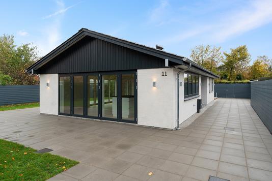 Villa på Søndre Viaduktvej i Køge - Set fra haven