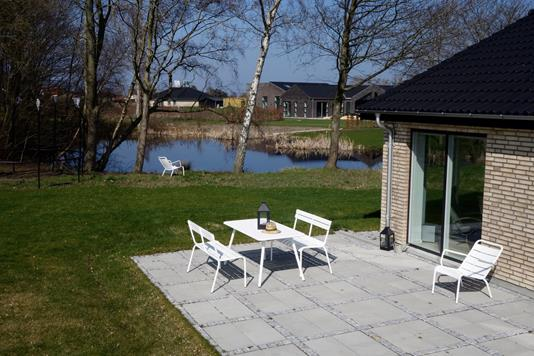 Villa på Nicolinevej i Køge - Terrasse