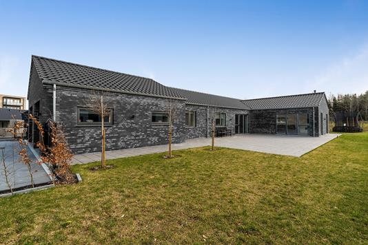 Villa på Klavervej i Køge - Set fra haven