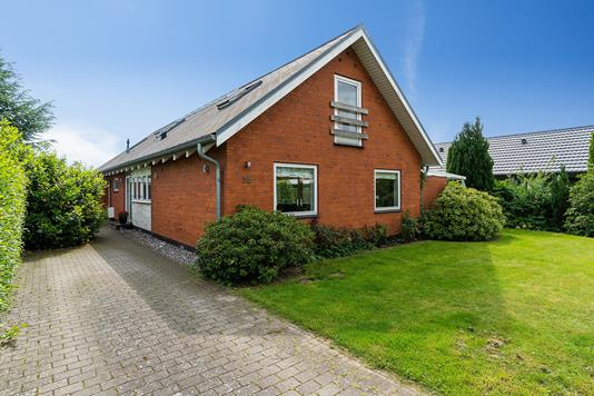 Villa på Egøjevej i Køge - Indkørsel