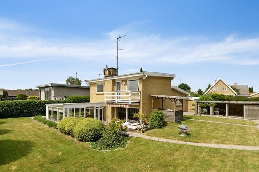Villa på Egelundsvej i Køge - Set fra haven