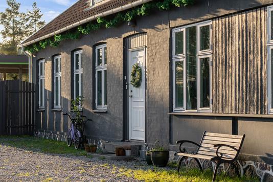 Ejerlejlighed på Vordingborgvej i Tureby - Set fra haven