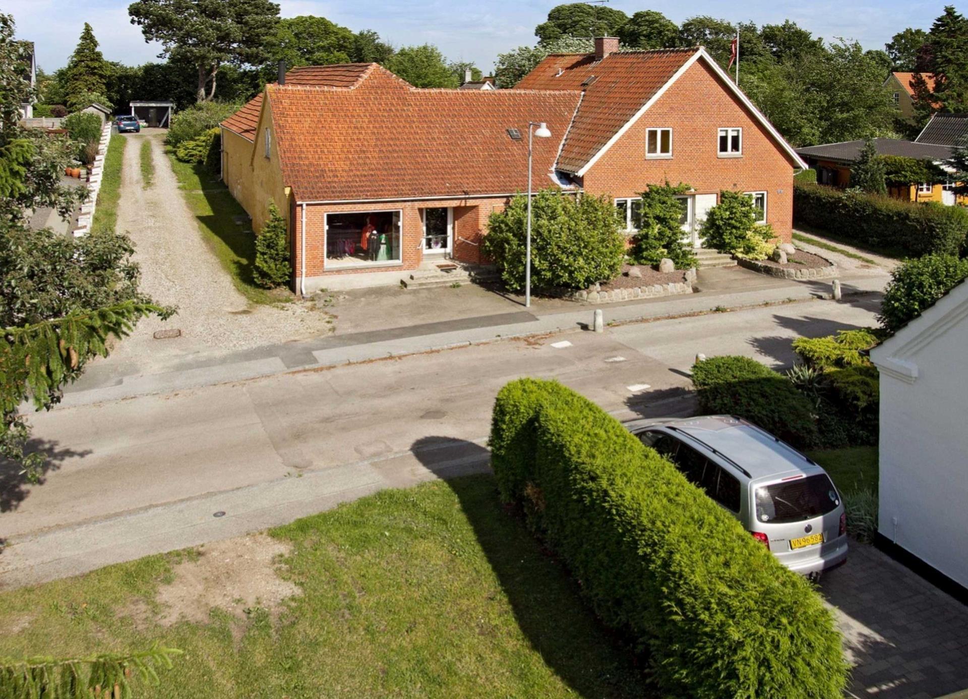 Villalejlighed på Valløby Bygade i Køge - Ejendommen