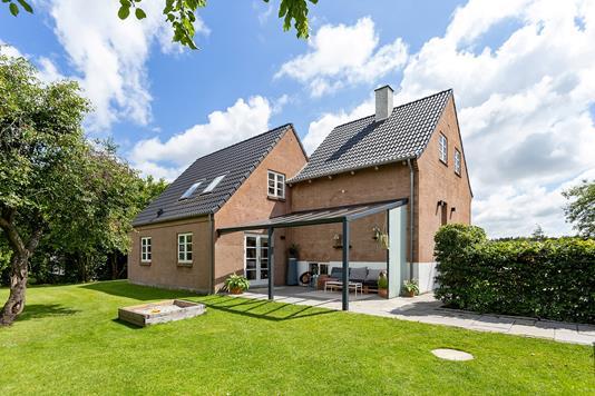 Villa på Gammel Hastrupvej i Køge - Set fra haven
