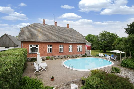 Villa på Gammel Køgevej i Klippinge - Swimmingpool