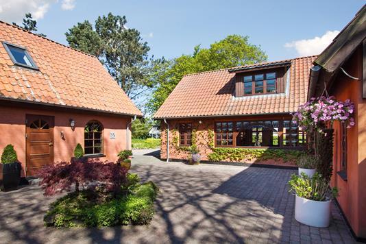 Villa på Bulveledet i Lille Skensved - Terrasse