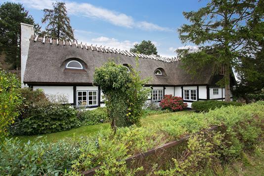Villa på Vallørækken i Køge - Set fra haven