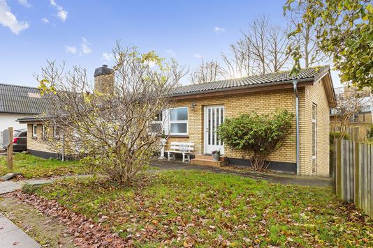 Villa på Blegdammen i Køge - Ejendommen