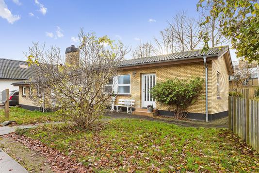 Villa på Blegdammen i Køge - Set fra haven