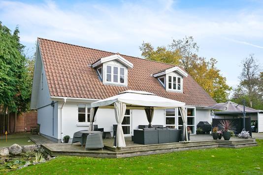 Villa på Krogen i Bjæverskov - Ejendommen