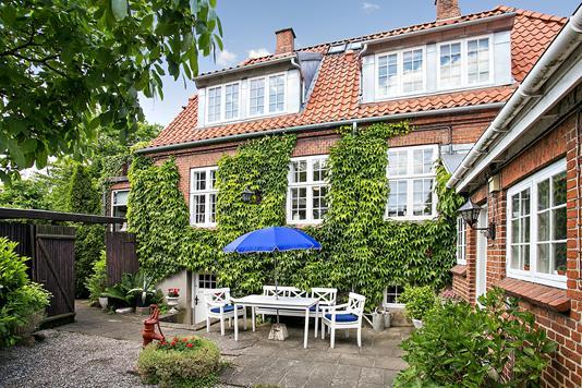 Villa på Vordingborgvej i Køge - Terrasse