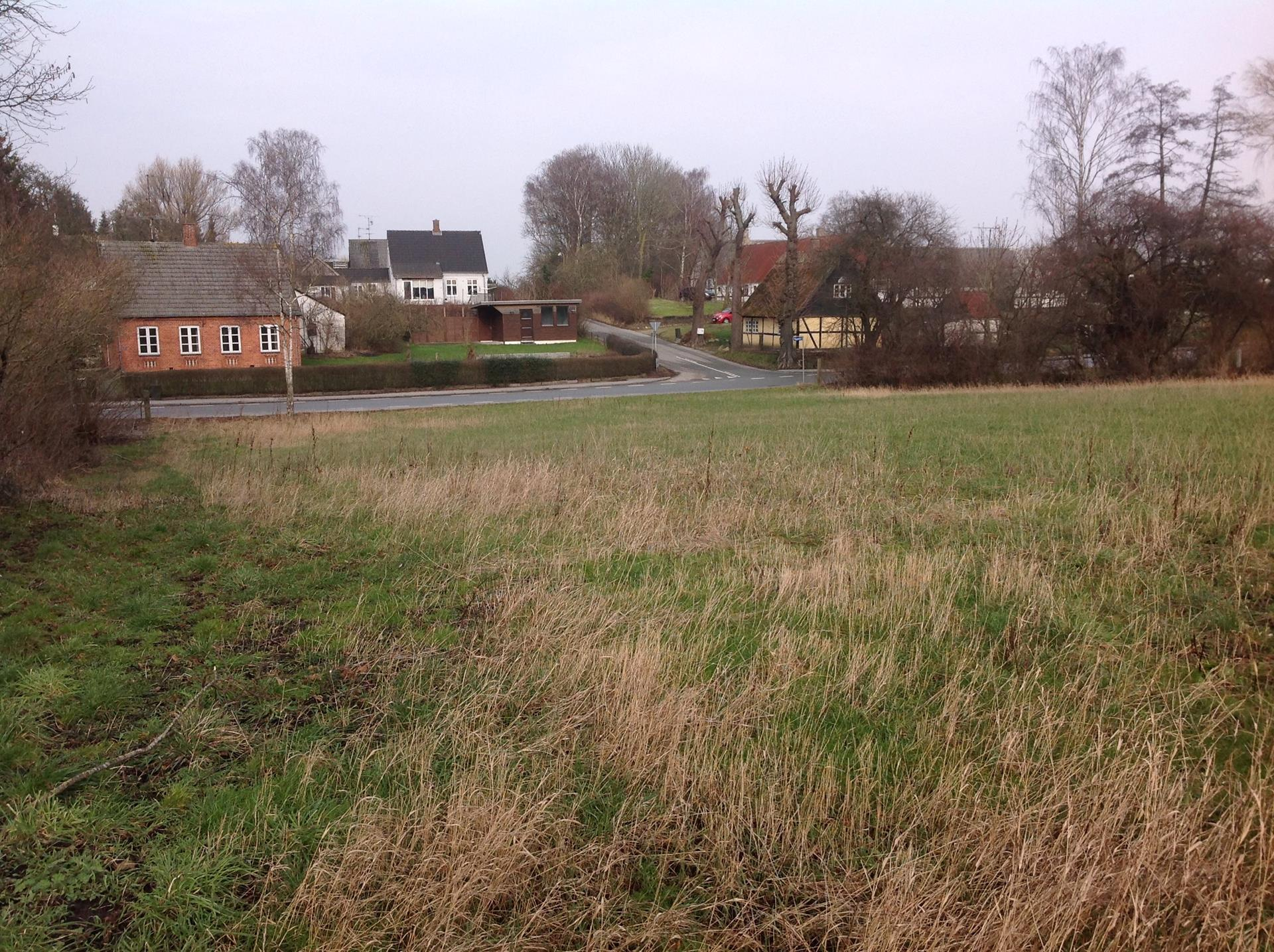 Helårsgrund på Elverhøjvej i Hårlev - Udsigt