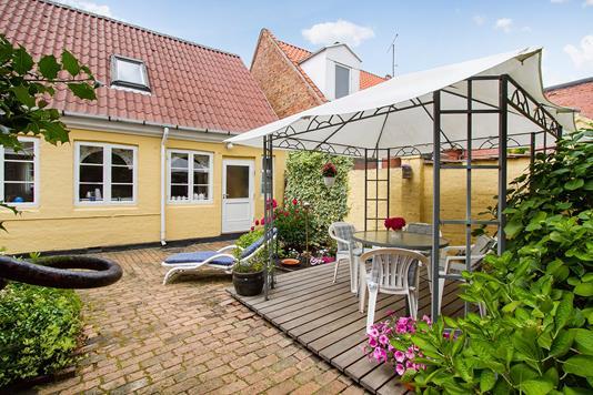 Villa på Stettestræde i Rønne - Terrasse