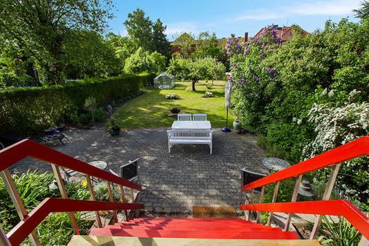 Villa på Byledsgade i Rønne - Udsigt