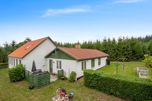 Villa på Segenvej i Rønne - Set fra haven