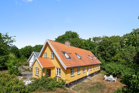 Villa på Krummeledvej i Hasle - Set fra haven