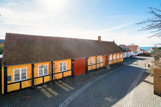 Villa på Havnegade i Hasle - Set fra vejen