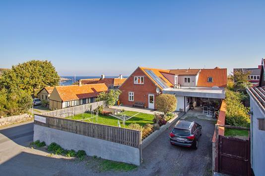 Villa på Skolestræde i Allinge - Carport