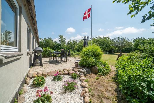 Villa på Aabyvej i Rønne - Terrasse