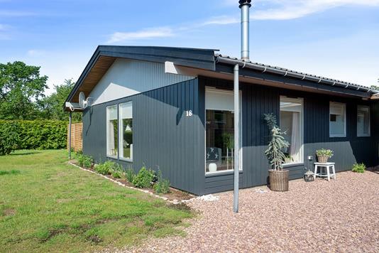 Villa på Toftelunden i Hasle - Set fra vejen