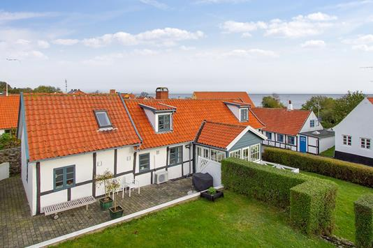 Villa på Søndergade i Allinge - Set fra haven