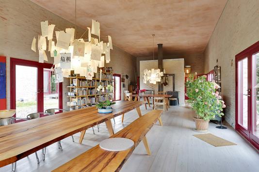 Villa på Kullevej i Stensved - Spisestue