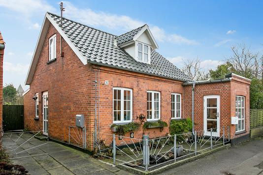 Villa på Hagesvej i Stege - Ejendommen