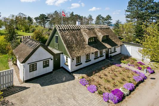 Villa på Korshærsvej i Vordingborg - Set fra vejen