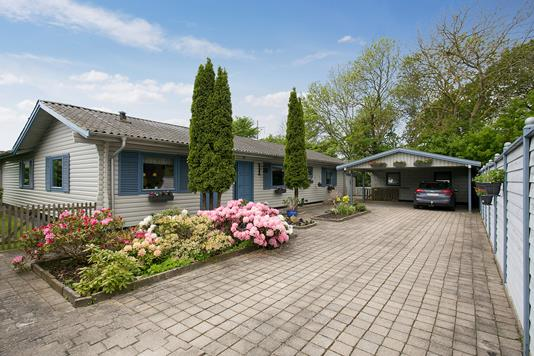 Villa på Ærtevænget i Vordingborg - Set fra vejen
