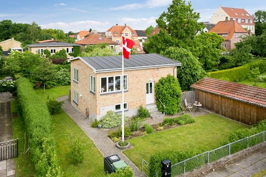 Villa på Ingemannsvej i Vordingborg - Luftfoto