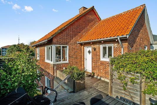 Villa på Krægestræde i Vordingborg - Set fra haven