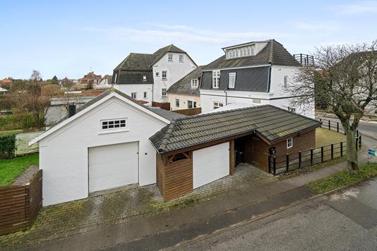 Villa på Chr Richardtsvej i Vordingborg - Set fra vejen