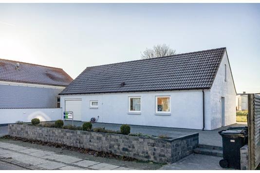 Villa på Volmersgade i Vordingborg - Set fra vejen
