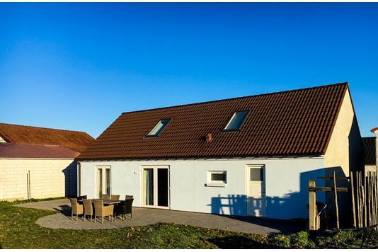 Villa på Volmersgade i Vordingborg - Set fra haven