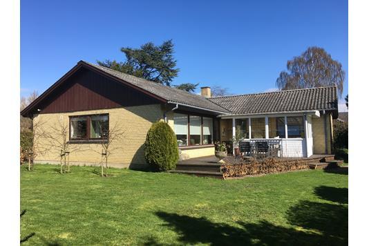 Villa på Solbakkevej i Vordingborg - Set fra haven