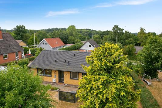 Villa på Tiendevej i Vordingborg - Set fra haven