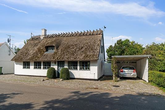 Villa på Søndersognsvej i Stege - Set fra vejen