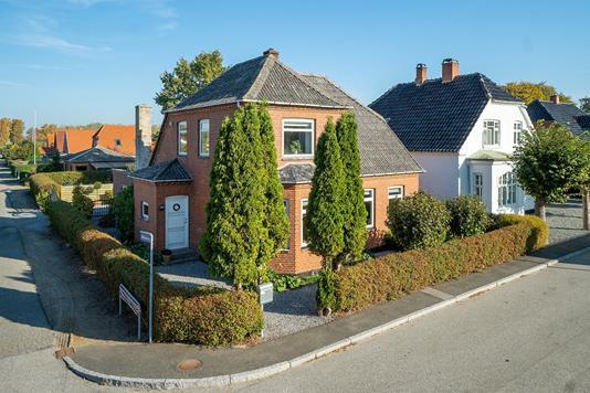 Villa på Klarskovvej i Vordingborg - Set fra vejen