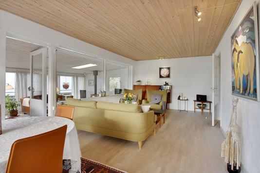 Villa på Kalvehavevej i Mern - Stue