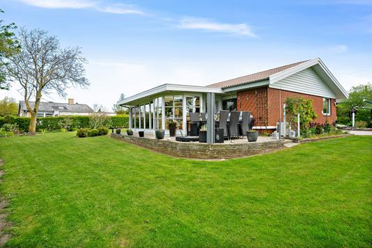 Villa på Spurvevænget i Vordingborg - Set fra haven
