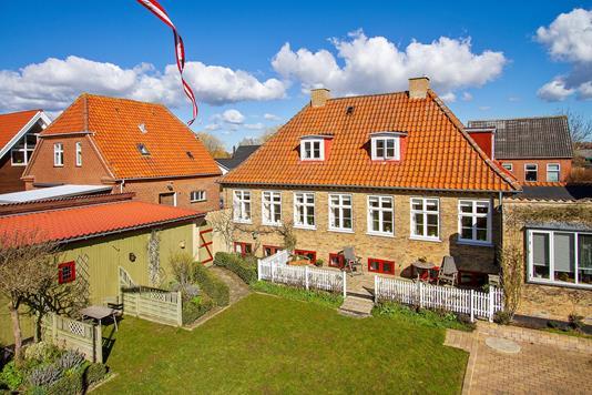 Villa på Næstvedvej i Vordingborg - Set fra haven