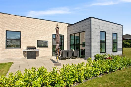 Villa på Olsbjergvej i Vordingborg - Set fra haven