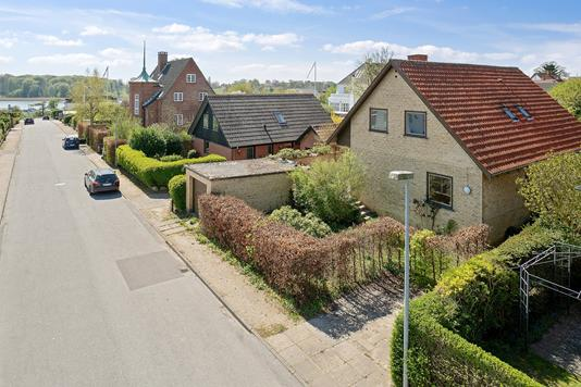 Villa på Fasanvej i Vordingborg - Set fra vejen