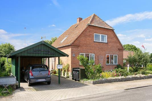 Villa på Chr Mathiesensgade i Vordingborg - Set fra vejen